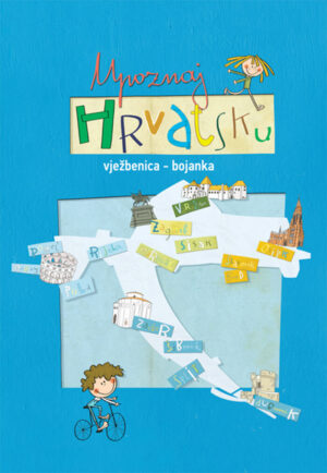 upoznaj hrvatsku vježbenica bojanka za djecu